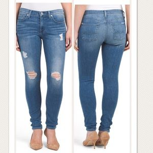 7 For All Mankind Gwenevere Skinny Jeans 30 & 31